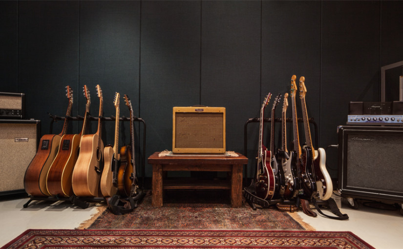 Back in the studio at Sunshine Recorder